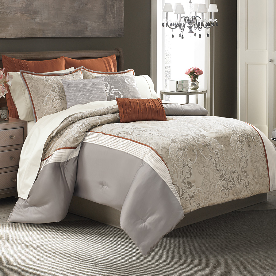 Create your own designer bedding style that will impress luxury homes network blog - Look contemporary luxury bedding ...